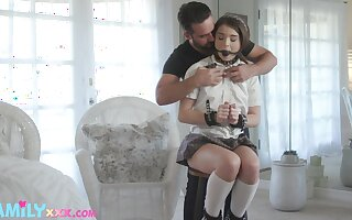 50 semi-darkness of kink with a sexy coed Megan Minx and that teen loves dick
