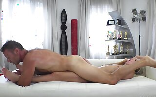 Porn casting helps the Ukrainian pretty good learn new sex positions