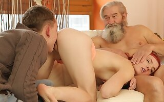 DADDY4K. Boy and his strigous father team up to punish