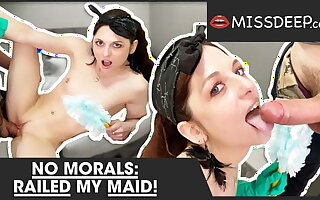 Taboo:Young maid gets her cunt filled with cum! MISSDEEP.com