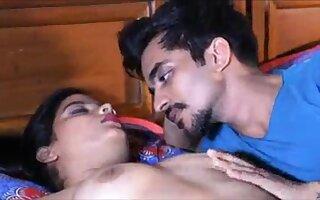 Pleasure-seeking Indian slattern memorable adult video