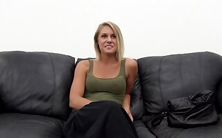 Cheerleader Emjay first time at porn