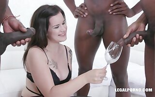 Desirable Thirsty Teenager Zara Assfucked hit the bottle pissing