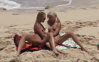 Blue Angel, Kacey Jordan-Beach-Girls