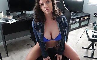 Big tits night POV blowjob hardcore